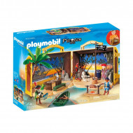 PLAYMOBIL PIRATES Nešiojama piratų sala, 70150 70150