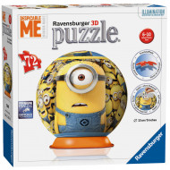 RAVENSBURGER dėlionė 3D, Despicable Me, 121618 121618