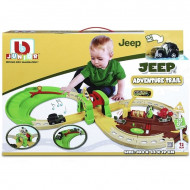 BB JUNIOR trasos rinkinys su automobiliu Jeep Adventure Trail, 16-88602 16-88602