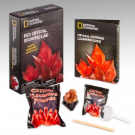 NATIONAL GEOGRAPHIC rinkinys Crystal Grow Red, NGRCRYSTAL NGRCRYSTAL
