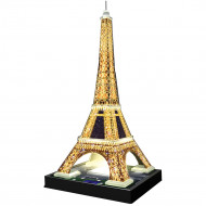 RAVENSBURGER dėlionė 216d. Eiffel Tower-Night, 125791 125791