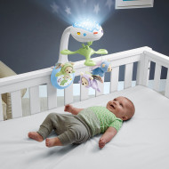 FISHER PRICE muzikinė karuselė 3in1 Butterfly Dreams, CDN41 CDN41