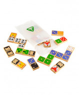 ELC Double Sided Wooden Dominoes, 143384