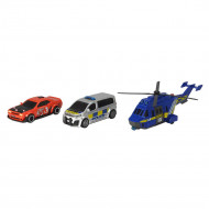 DICKIE TOYS rinkinys International Police Chase, 203715011038 203715011038