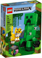 21156 LEGO® Minecraft™ BigFig Creeper™ BigFig su Ocelotu 21156