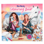 TOPMODEL Miss Melody Colouring Book With Animals, 8576/10409 8576