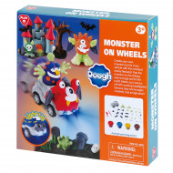 PLAYGO DOUGH monstras ant ratų, 8258 8258