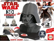 EDUCA 3D dėlionė DARTH VADER - Black Side Edition, 17334 17334