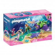 PLAYMOBIL MAGIC Perlų kolekcionieriai su raja, 70099 70099