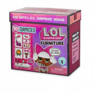 LOL Surprise rinkinys Furniture with Doll wave 1, 561736