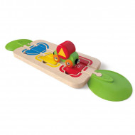 HAPE žaidimas Color & Shape Sorting, E3810 E3810