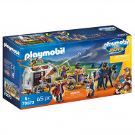 PLAYMOBIL MOVIE Charlie with Prison Wagon, 70073 70073