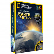 NATIONAL GEOGRAPHIC rinkinys Glow in the Dark 3D Earth and Stars, NGEARTHSTAR2 NGEARTHSTAR2