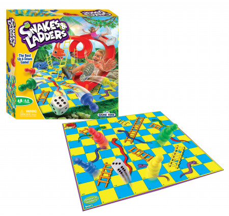 FUNVILLE GAMES žaidimas Snakes & Ladders, 61151 61151