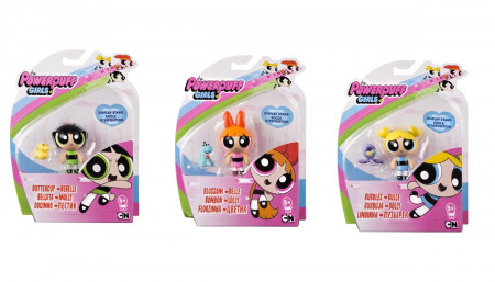 POWER PUFF GIRLS figūrėlė su priedu, 6028014 6028014