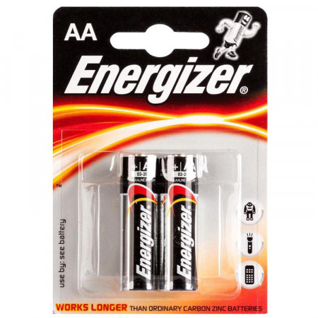 ENERGIZER baterijos LR6 AA, blister*2