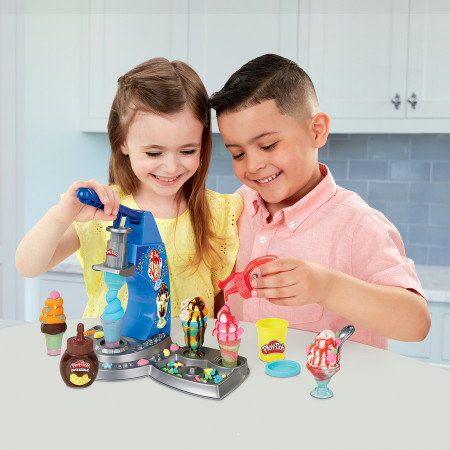 PLAY DOH KITCHEN CREATION Drizzy ledų rinkinys, E66885L0 E66885L0